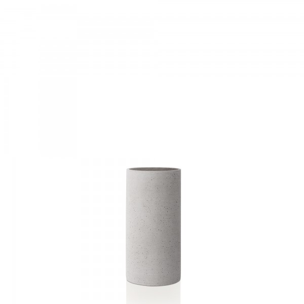 Vase hellgrau M COLUNA