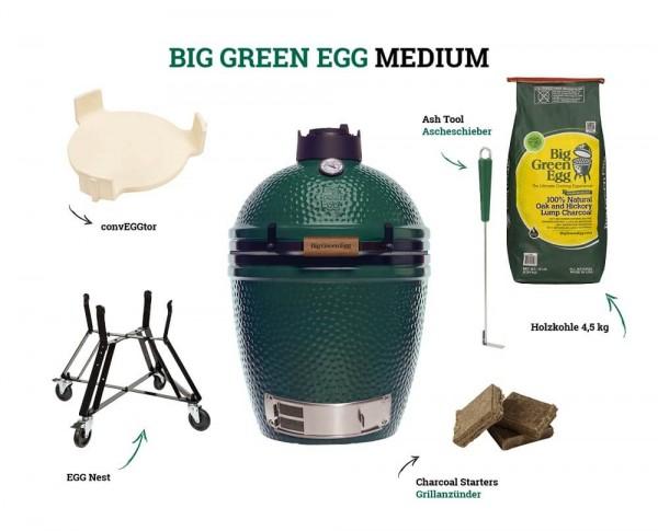Big Green Egg Medium - Starter Kit
