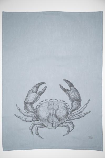 "Geschirrtuch Halbleinen ""Crab"""