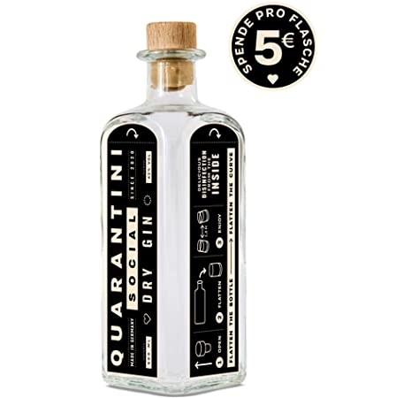 Gin - Quarantini, Social Dry Gin, 500ml