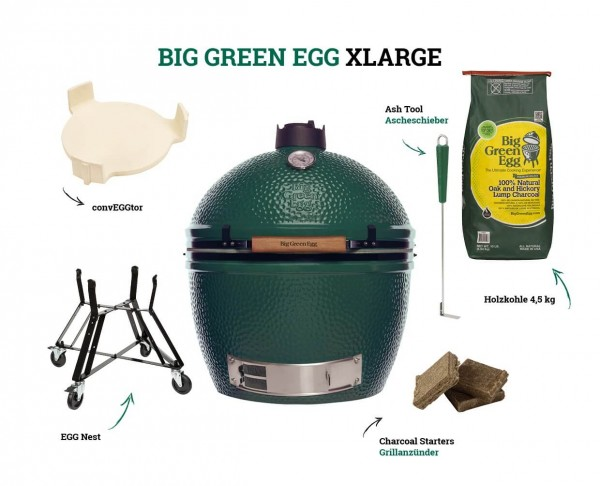 Big Green Egg XLarge - Starter Kit