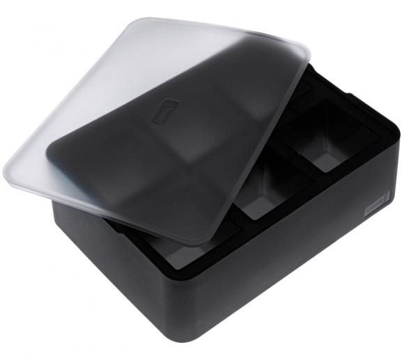 ICE FORMER Würfel 5x5cm schwarz