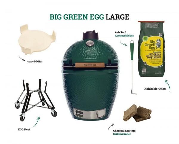 Big Green Egg Large - Starter Kit