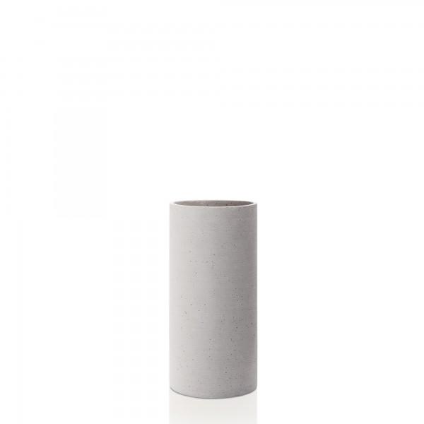 Vase hellgrau L COLUNA