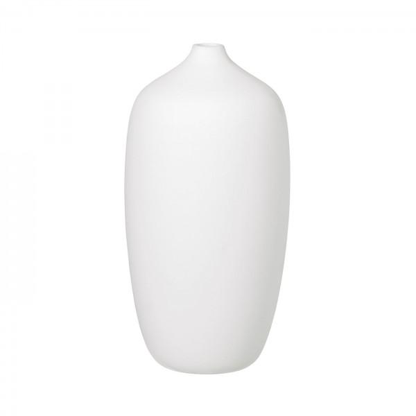 Vase 25 cm weiß CEOLA