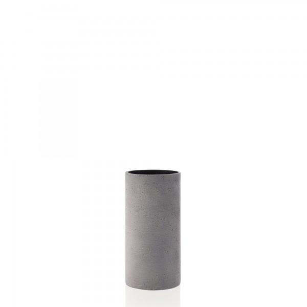 Vase Coluna dunkelgrau M von Blomus