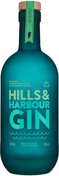 Gin - Hills & Harbour Dry Gin, 700ml