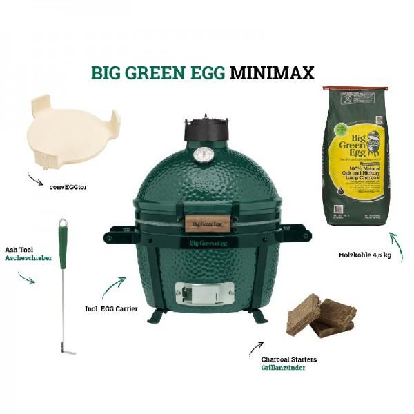 Big Green Egg MiniMax - Starter Kit