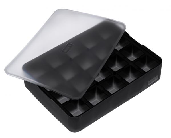 Ice Former Würfel 3x3 cm schwarz transparent
