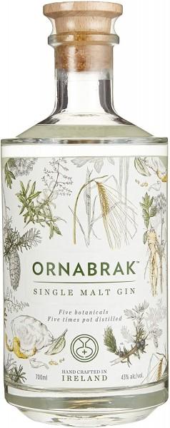 Gin - Ornabrak Irish Single Malt Gin, 700ml
